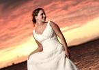 La novia frente al horizonte venezolano