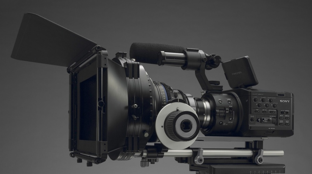 Sony NEX FS100 Pro Aim Rig