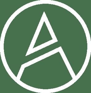 Logo alcanmedia blanco